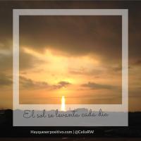 El sol sale... cada día