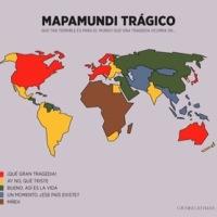 El mapamundi trágico: para saber qué hacer el día de la próxima desgracia