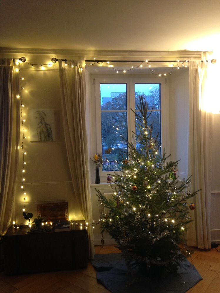 El árbol de navidad de Jacques et Valèrie