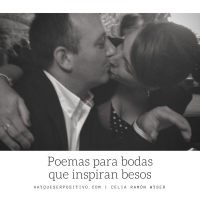 Poemas para bodas que inspiran besos