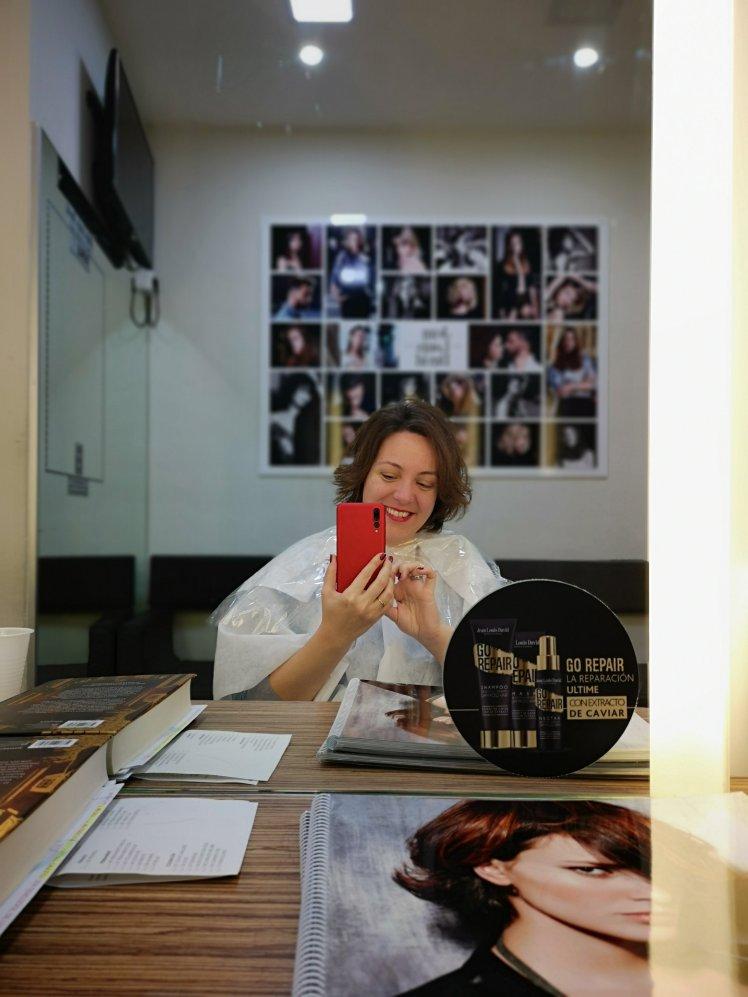 Cambio de look: el corte en la peluquería