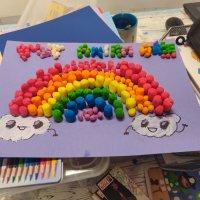 #yomequedoencasa: día 18. Y por fin, el arcoiris. Todo irá bien.